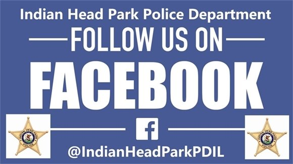 Follow the Indian Head Park Police Department on Facebook!